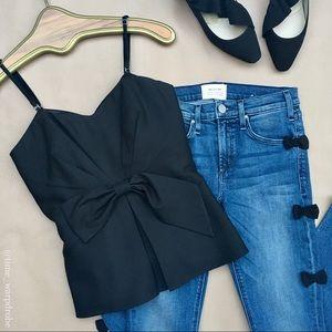 📞Ann Taylor •• Silk Bustier Camisole
